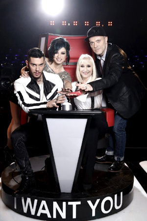 Anche la Carrà per la 4^ di The Voice of Italy
